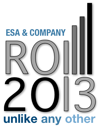 ROI2012 | ESA's New Biz Media Conference